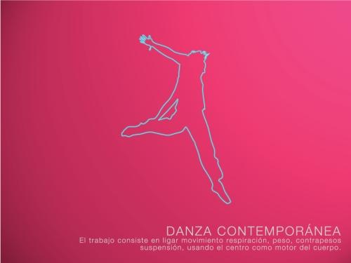 clases de danza contemporánea permanentes dictadas por Cristina Baquerizo