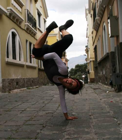 Improvisación danza urbana