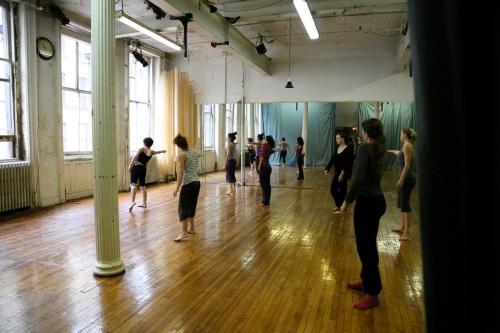 Clase de técnica de piso 100 Grand NYC por Cristina Baquerizo 2012