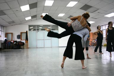 Taller de Maurice Fraga producido por Cristina Baquerizo 2010
