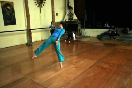Clases de danza permanentes en Humanizarte durante el período de 2008/2010