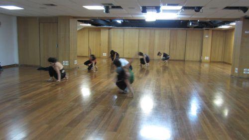 Taller danza contemporánea en el C.C. Itchimbía diciembre del 2012