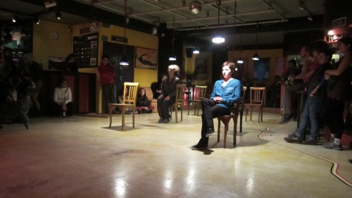 Y+O  Coreografía e interpretación: Cristina Baquerizo Ocho y Medio Quito