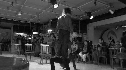 Y+O Coreografía e interpretación: Cristina Baquerizo y María Sol Rosero  Ocho y Medio Quito