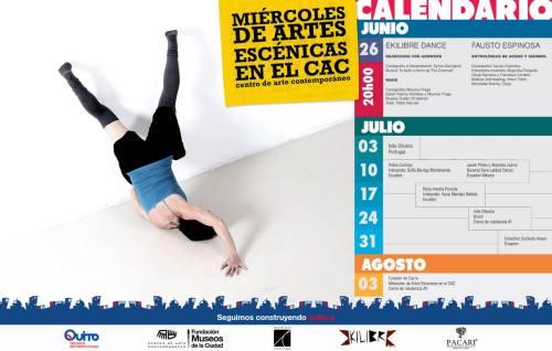 Miércoles de Artes Escénicas  Centro de Arte Contemporáneo de Quito 2013