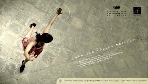 "Postal promo ""Sentido Lúdico Bailado"""