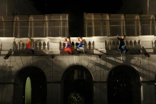 Festival Quito Concreto  Apertura por Movimiento Centrífuga 2012