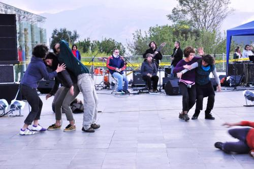 Quito Concreto jam cierre del festival 2012