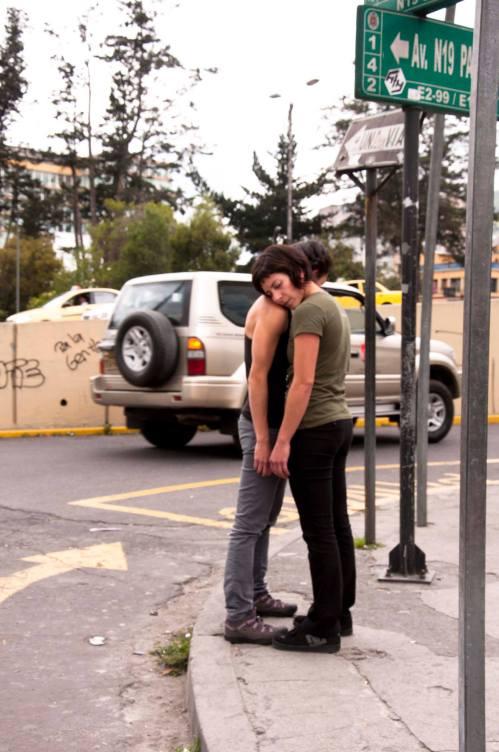 """Latidos"" Coreografía e interpretación: Cristina Baquerizo y Sofía Barriga 2010"