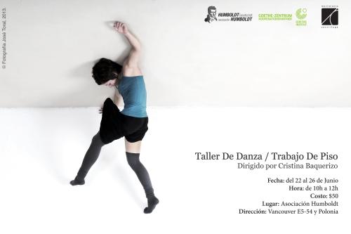 TALLER DE DANZA / TRABAJO DE PISO